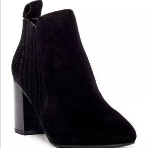 New 14th & Union Tasha Suede Bootie Black Size 12